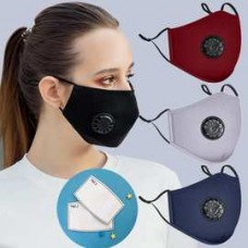 Cotton Mask with 4 Ply Filter 20pc/bag 1000pc/case