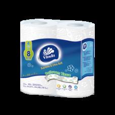 Vinda 2Ply Toilet Paper  220Sts/Roll*4 16Set/Case